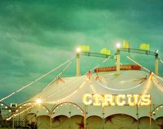 Circus II Art Print by Violet D'Art on society6