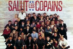 French artists in the sixties France Gall, France 2, Frank Alamo, Eddy Mitchell, Johnny Halliday, Françoise Hardy, Sheila, Brian Wilson, Jean Marie