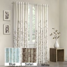 Amy - did my curtains for the office disappear on Overstock?  I hope not but if so, would these work in white?  Madison Park Aramo 84-inch Curtain Panel