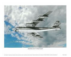 Boeing B-47 Stratojet Military Airplane 11 x 14 Poster