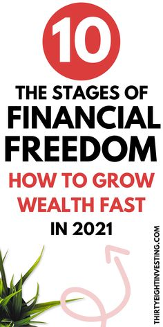 These are the 10 stages of financial freedom. How to grow wealth fast in 2021 and achieve financial freedom! Going To Work, Personal Finance, Wealth, Budgeting, Investing, Freedom, Articles, Liberty, Political Freedom