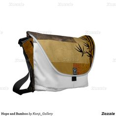 Hope and Bamboo Courier Bags by Nola Lee Kelsey