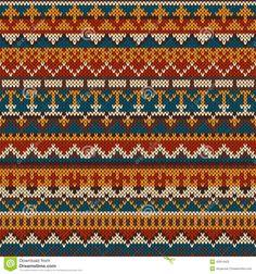 fair isle pattern - Google-haku