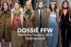 Dossiê FFW: as tendências vistas nos desfiles internacionais de Inverno 2016 // Trends // FFW