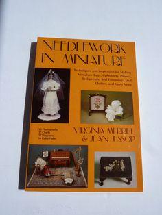 Needlework in Miniature Book  Inspiration for Miniature Needlework