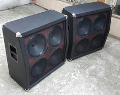 "Double 4x12"" Custom Speaker Cabinet with Celestion Vintage 30 made by Chronox"