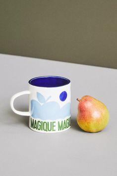 Hotel Magique for Anthropologie Melange Mug | Anthropologie Anthropologie Uk, Best Brand, Paper Goods, Stoneware, Product Launch, Graphic Design, Mugs, Tableware, Prints