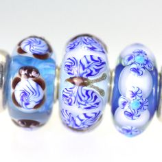 At Trollbeads Gallery we match them so you don't have to!  Twins & Trios , http://www.trollbeadsgallery.com/twins-trios-267/
