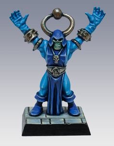 Skeletor! 2014. Warhammer Fantasy, Warhammer 40k, Sci Fi Miniatures, Tabletop Games, Love Painting, Miniture Things, War Machine, Small World, Dungeons And Dragons