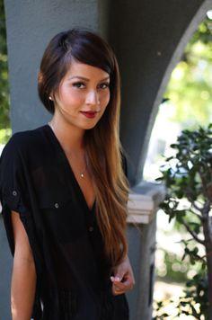 light black blouse
