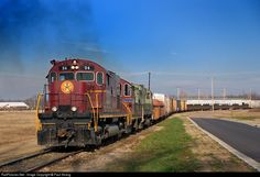 RailPictures.Net Photo: AM 54 Arkansas & Missouri Railroad Alco C420 at Fort Smith, Arkansas by Paul Strang