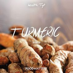 What's your favorite way to use this wonder-spice? You already know we are big fans of TURMERIC & for very good reasons such as soothing for the flu, depression, insomnia, headaches, fights allergies, fights inflammation. One of the most restorative foods! - Cancer fighting - Anti-inflammatory - Antioxidants - Lowers cholesterol - Antibacterial - Prevents alzheimer's www.foodmatters.tv