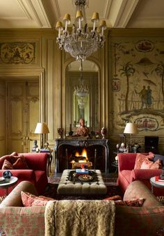 21 Gorgeous Spaces Warmed by Fireplaces | The Study