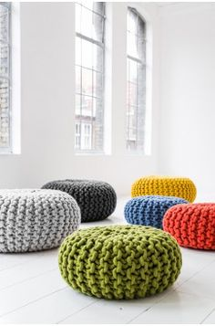 Urchin Poef - Christien Meindertsma | More on: http://www.pinterest.com/AnkApin/collection-6/