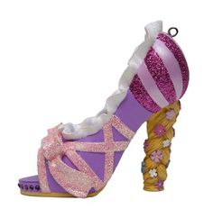 Disney Princess Shoe Ornaments - Rapunzel Close Up
