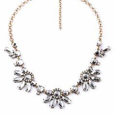 Beth Flower Necklace