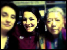 My mom, me and my japanese friend Sumiko!