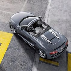 Twitter / Luxurry_cars : Who is waiting for the #R8Spyder ...