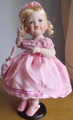 Original Petite Porcelains By Barbara Lee Dolls Of The
