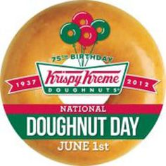 Free Krispy Kreme Doughnuts On June 1 to Celebrate National Doughnut Day