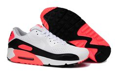 Best Women Air Max 90 Hyperfuse White Pink Black