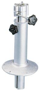 En oferta Pedestal de Aluminio Empotrable Telescopico 380-800mm para Mesas y Sillones