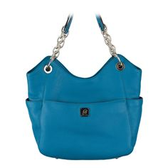 Fashion bag Carly-Ocean Leather Bag  https://myfashions.graceadele.us/GraceAdele/Buy/ProductDetails/22064