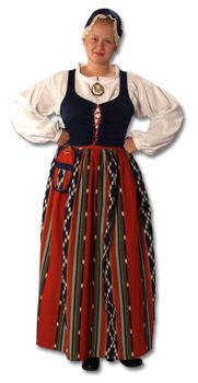Jurvan naisen kansallispuku Folk Costume, Costumes, Danish Culture, Swedish Traditions, Tribal Women, Folk Fashion, Historical Clothing, Traditional Dresses, Finland