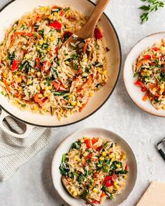 The Best Homemade High Protein Snacks | Ambitious Kitchen Orzo Recipes, Healthy Pasta Recipes, Healthy Pastas, Healthy Dinners, Rice Like Pasta, Parmesan Orzo, How To Cook Orzo, Sweet Potato Noodles, Rice