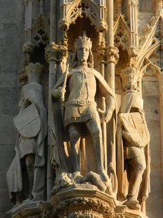 Rudolf IV. der Stifter Chor, Kirchen, Austria, Carving, Statue, Decoration, Art, Big Top, Romanesque