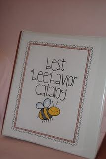"""When my students follow The Five Bees Promise, they have the opportunity to earn """"punches"""" on their """"Good Behavior Golden Tickets"""" a.k.a.  """"Punch Cards"""".  When the ticket is full of punches, that little friend can redeem the ticket for any prize found in the Best """"Beehavior"""" Catalog."""