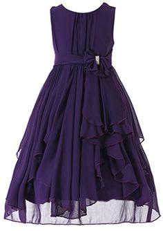 Bow Dream Flower Girl Dress bridesmaid Ruffled Chiffon Pu... https://www.amazon.com/dp/B01BSFFZBE/ref=cm_sw_r_pi_dp_x_tJqPyb71J99BR