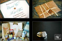 Exuma Wedding. Invitation, Gifts and Rings Mario Nixon Photography