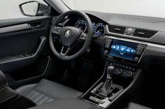 2016 Skoda Superb will be found on the border between the middle and high-class cars. Skoda Fabia, Cars And Motorcycles, Automobile, Vehicles, Design, Interior, Transport, Facts, News