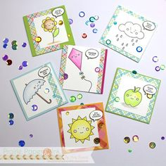 Simon Says Stamp Card Kit of the Month May 2016 Showered with Love ck516 at Simon Says STAMP!