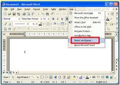 Make efficient Access Database File repair with Microsoft Detect and Repair tool