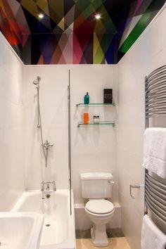 Un apartamento decorado con estampados geométricos | Decorar tu casa es facilisimo.com
