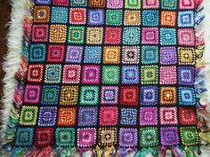 Granny square afghan   by Ruthiejoy