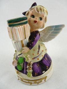 Vintage TMJ Thursday Angel Girl Figurine