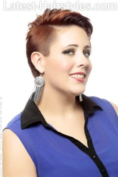 Image result for No Fuss Haircuts for Women Plus Size