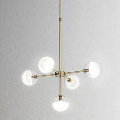 Pendant Lights : Molecola Suspension Light 5 lights