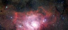 Raumforschung Panorama Leinwand