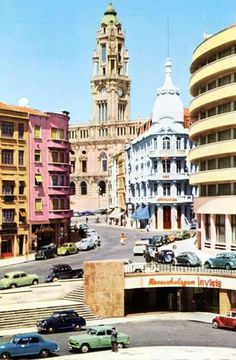 Porto City, Spain And Portugal, Notre Dame, World, Places, Travel, Memories, Photos, Vintage