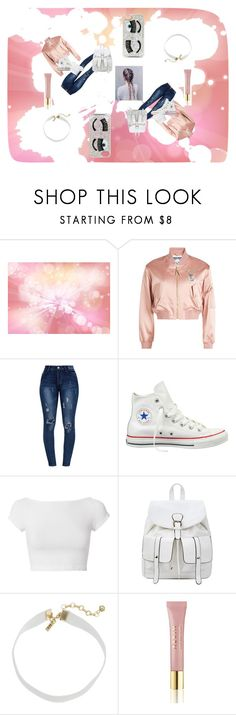"""pastel pop"" by sienna-pug111 on Polyvore featuring Moschino, Converse, Helmut Lang, Vanessa Mooney, AERIN and Chiara Ferragni"