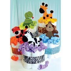 Morex+Mini+Animal+Diaper+Cakes+