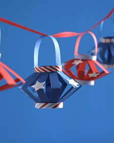 These are so fun! I will definitely be making these for my 4th of July BBQ. --> Holiday Lanterns | Step-by-Step | DIY Craft How To's and Instructions| Martha Stewart