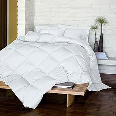 The classic La Crosse Down Comforter