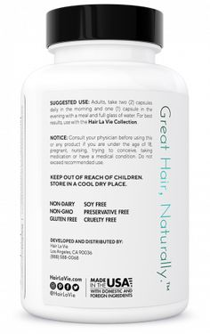 Clinical Formula Hair Vitamins | Hair La Vie