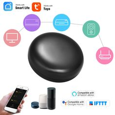 OFF Ir-Control-Hub Tuya Universal Wifi-Ir Smart-Life-App Infrared Enabled Afstandsbediening App Control, Access Control, Wifi, Soft Wedding Makeup, Life App, Universal Remote Control, App Support, Smart Home Automation, Perfect Makeup