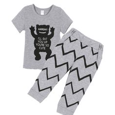 >> Click to Buy << Children Clothing Cartoon Baby Clothing Sets Summer Boys Short Sleeve T-shirt+Pants Suits  #Affiliate